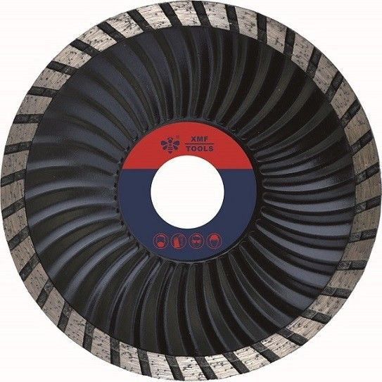 Circular Saw Turbo Wave Turbo Diamond Saw Blade Black Masonry Cutting